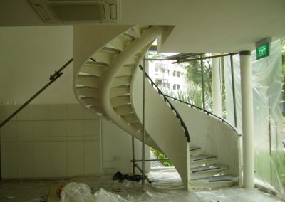 Spiral Staircase At Spottiswoode